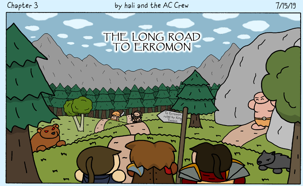 The Long Road to Erromon
